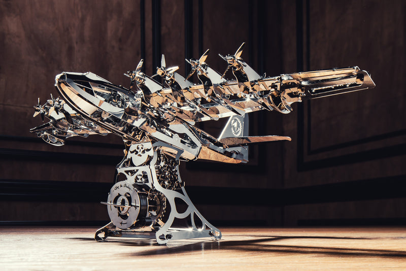 Heavenly Hercules, Metal toy, Time 4 Machine, DIY metal toy