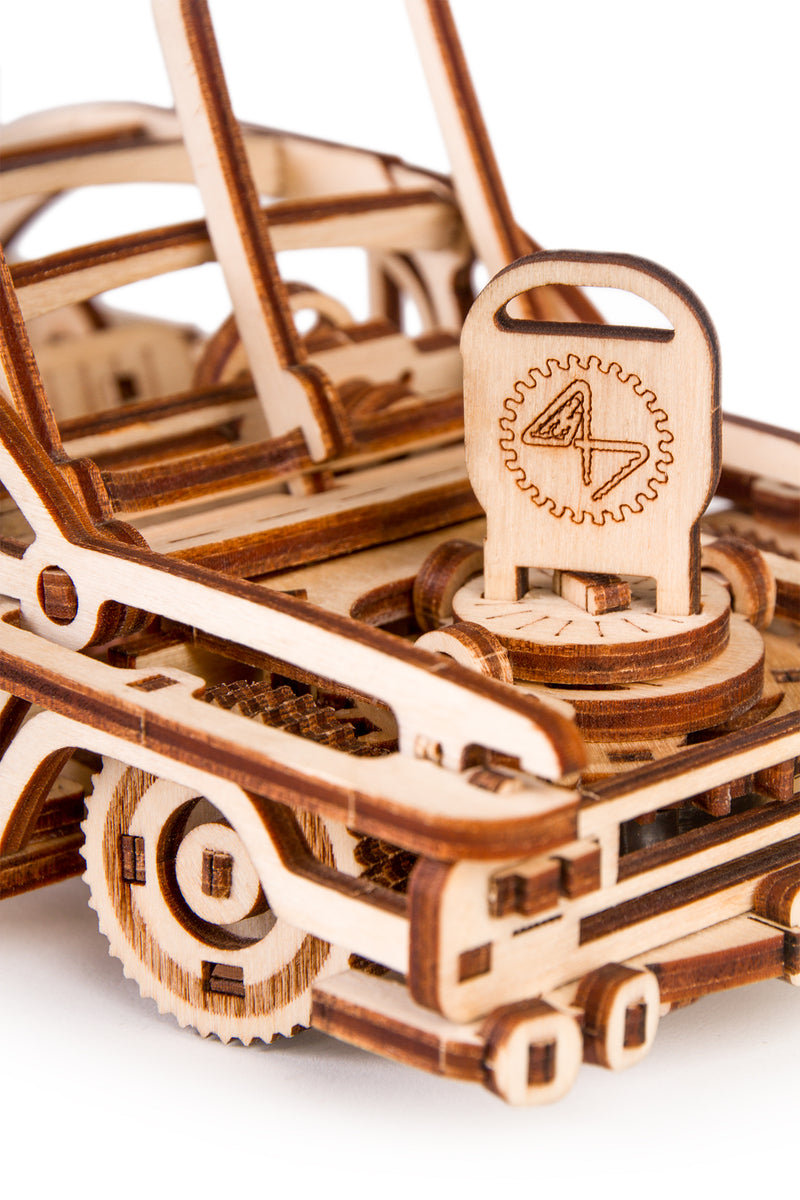Time 4 Machine - Elvis Car model kit - 3d Wooden Mechanical model
