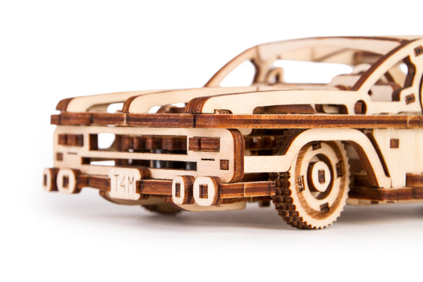 Time 4 Machine - Elvis Car wooden toy- 3D mechanical model kits for adults