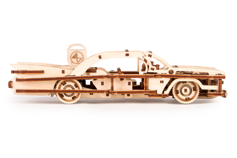 Time 4 Machine - Elvis Car wooden toy - 3d wooden mechanical model kits for adults