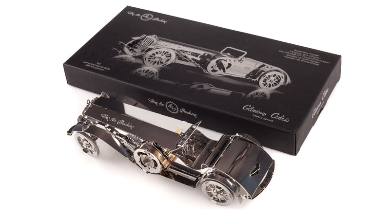 Time 4 Machine - Glorious Cabrio metal toy in the package - 3d metal puzzle toy