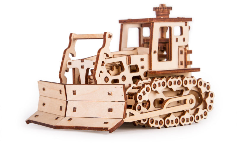 Time 4 Machine - Push Dozer wooden toy - Wooden Mechanical models