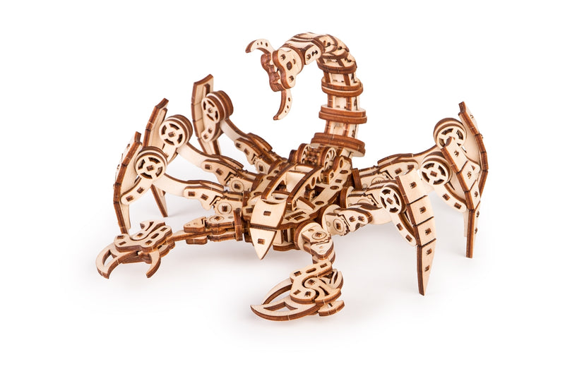 Time_for_machine_-_Scorpio_model_-_3d_wooden_puzzle