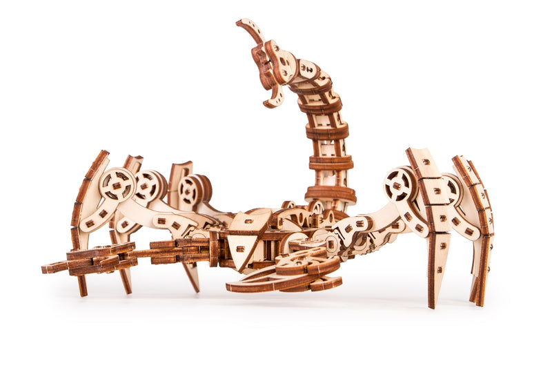 Time_for_machine_-_Scorpio_model_kit_-_3d_wooden_puzzle_model