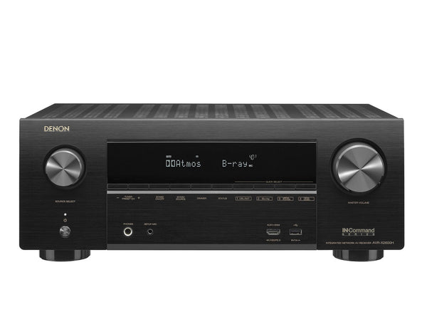 Denon AVR-X2600 7.2-channel 4K home theater receiver