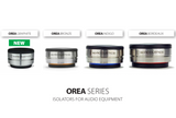 IsoAcoustics OREA- Isolation for Studio Monitors and Amps (2-Pack)