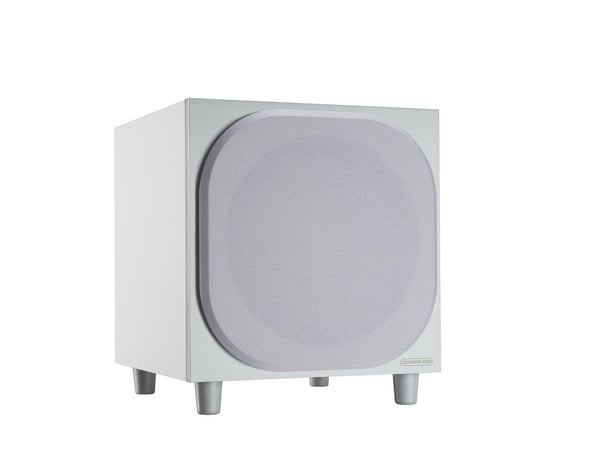 monitor audio bronze w10 subwoofer (white)