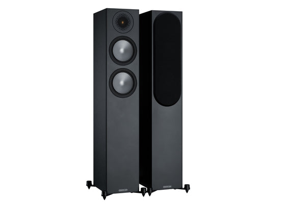 monitor audio bronze 200 speakers (black)