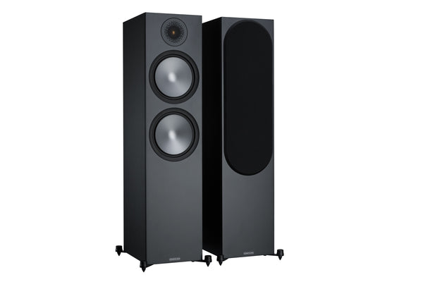 monitor audio bronze 500 speakers (black)