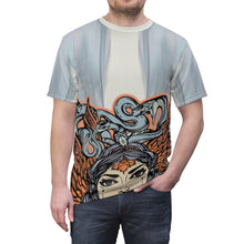 Load image into Gallery viewer, yeezy boost 700 inertia all over print sneaker match t shirt yeezy boost inertia shirt yeezy 700 inertia t shirt cut sew medusa v2