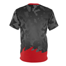 Load image into Gallery viewer, air jordan 5 satin bred shirt aj5 satin bred tee jordan 5 satin t shirt satin camo v1 cut sew