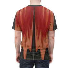 Load image into Gallery viewer, habanero red foamposite sneakermatch shirt drippin v4
