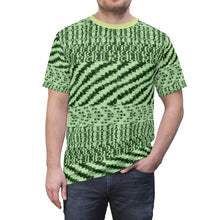 Load image into Gallery viewer, shirt to match yeezy boost 350 v2 yeezreel macro hand drawn vectorized pattern cut sew t shirt