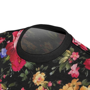 foamposite floral all over print sneaker match shirt floral foamposite shirt floral foam t shirt cut sew polyester v1
