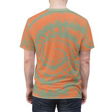 Load image into Gallery viewer, Yeezy Boost 350 V2 Desert Sage Sneaker Color Match T-Shirt Tie Dye Print V1