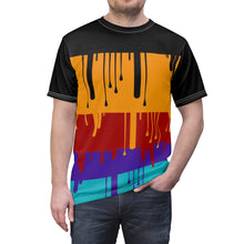 Load image into Gallery viewer, jordan 9 dream it do it sneaker match colorblock cut sew t shirt the drip