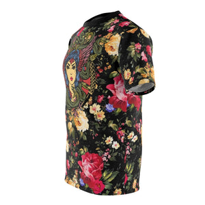foamposite floral all over print sneaker match shirt floral foamposite shirt floral foam t shirt cut sew polyester v1b