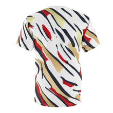 Load image into Gallery viewer, olympic colorway all over print cut sew shirt