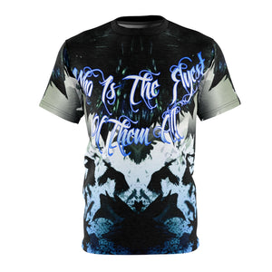 blue mirror foamposite sneakermatch t shirt by gourmetkickz