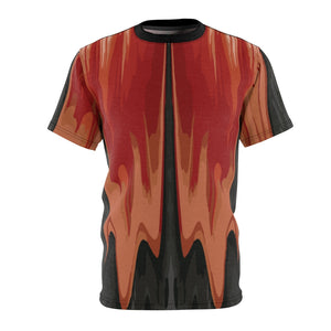 habanero red foamposite sneakermatch shirt drippin v4