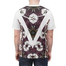 Load image into Gallery viewer, jordan 7 cigars and champagne all over print t shirt by gourmetkickz