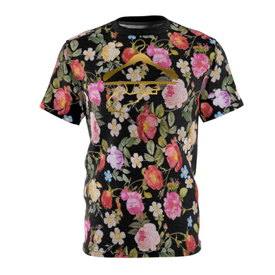 foamposite floral all over print sneaker match shirt floral foamposite shirt floral foam t shirt the cut sew now serving bouquet tee