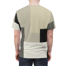 Load image into Gallery viewer, yeezy boost 700 analog all over print sneaker match t shirt yeezy boost analog shirt yeezy 700 analog t shirt cut sew colorblock v1