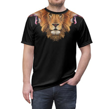 Load image into Gallery viewer, lebron 3 heads of the lion shirt by gourmetkickz