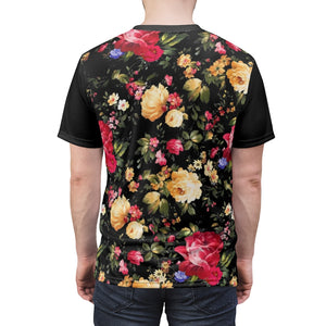 foamposite floral all over print sneaker match shirt floral foamposite shirt floral foam t shirt cut sew flower mistress