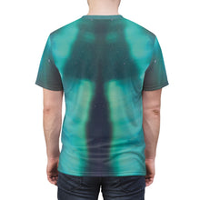 Load image into Gallery viewer, northern lights foamposite shirt v5 by gourmetkickz
