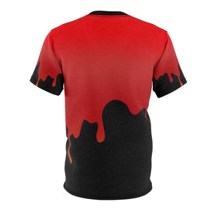habanero red foamposite sneakermatch shirt drippin