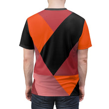Load image into Gallery viewer, hyper crimson foamposite pro sneaker match t shirt cut sew colorblock sauce