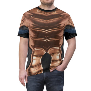 copper foamposite all over print shirt full of scents by gourmetkickz