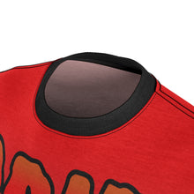 Load image into Gallery viewer, habanero red foamposite sneakermatch shirt drip drip