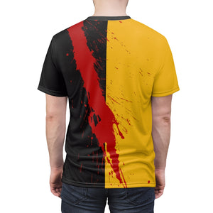 kill bill simple slash t shirt