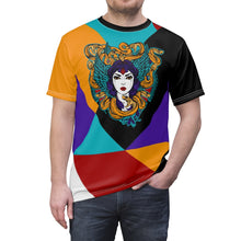 Load image into Gallery viewer, jordan 9 dream it do it sneaker match colorblock medusa cut sew t shirt