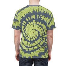 Load image into Gallery viewer, yeezy boost 350 v2 semi frozen yellow sneaker match tie dye print t shirt