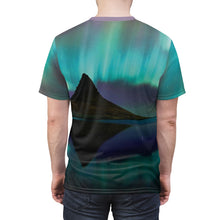 Load image into Gallery viewer, northern lights foamposite shirt v3 by gourmetkickz