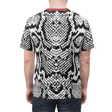 Load image into Gallery viewer, shirt to match nike air foamposite one snakeskin cut sew v1