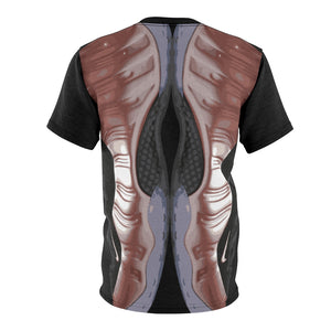 rose gold foamposite sneakermatch shirt drippin v2
