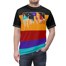 Load image into Gallery viewer, jordan 9 dream it do it sneaker match colorblock drippin cut sew t shirt