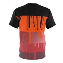 Load image into Gallery viewer, hyper crimson foamposite pro sneaker match t shirt cut sew dripping colorblock