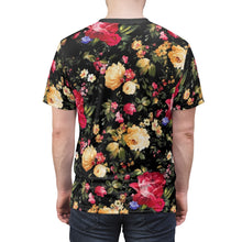 Load image into Gallery viewer, foamposite floral all over print sneaker match shirt floral foamposite shirt floral foam t shirt cut sew polyester v1b