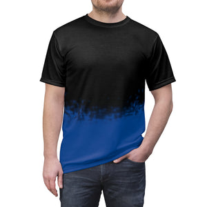 aj1 royal faded all over print t shirt v3