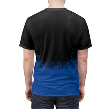 Load image into Gallery viewer, aj1 royal faded all over print t shirt v3