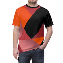 Load image into Gallery viewer, hyper crimson foamposite pro sneaker match t shirt cut sew colorblock