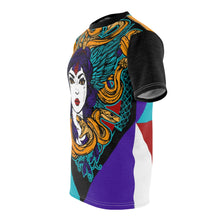 Load image into Gallery viewer, jordan 9 dream it do it sneaker match colorblock medusa cut sew t shirt v2