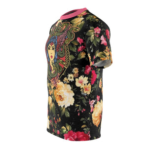 foamposite floral all over print sneaker match shirt floral foamposite shirt floral foam t shirt cut sew polyester v2b