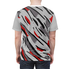 Load image into Gallery viewer, shirt to match jordan 8 reflections of a champion macro midsole pattern daze cut sew