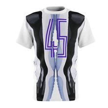 Load image into Gallery viewer, jordan 11 retro concord 2018 sneaker match t shirt the 45 t shirt cut sew v3